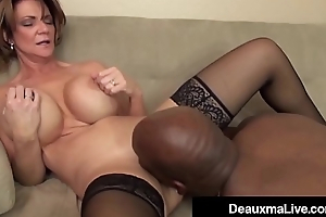 Milf Manager Deauxma Gets An Employee'_s BBC To A Big Bang!