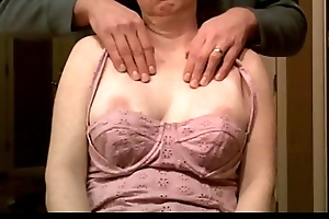 milf tits groped during massage