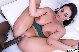 BANGBROS - Obese Tits Anglea White VS Monster Cock